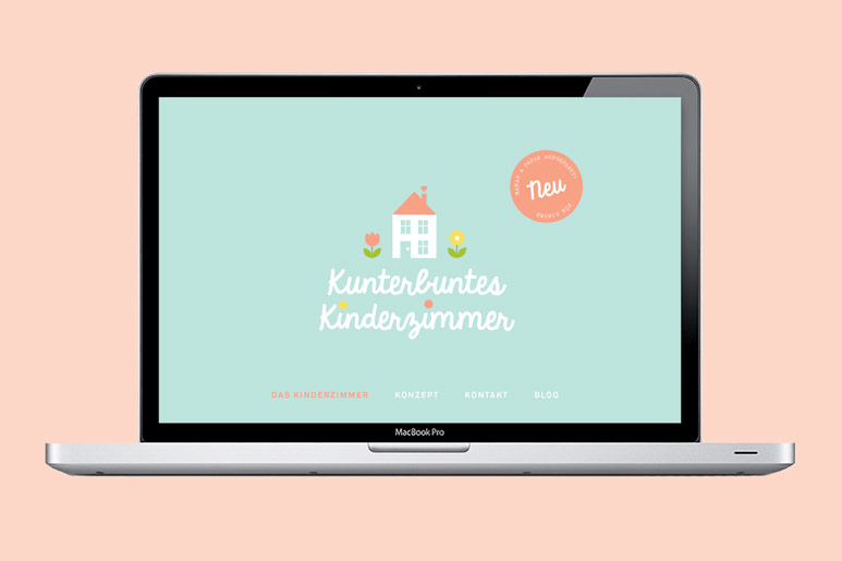Kunterbuntes Kinderzimmer | Corporate Design