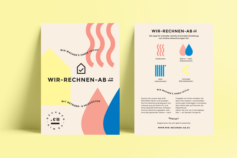 wir-rechnen-ab.eu | Corporate Design